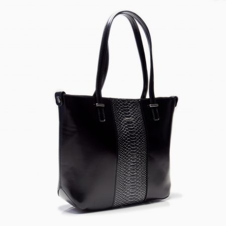STACY TOTE (TWO TONE)
