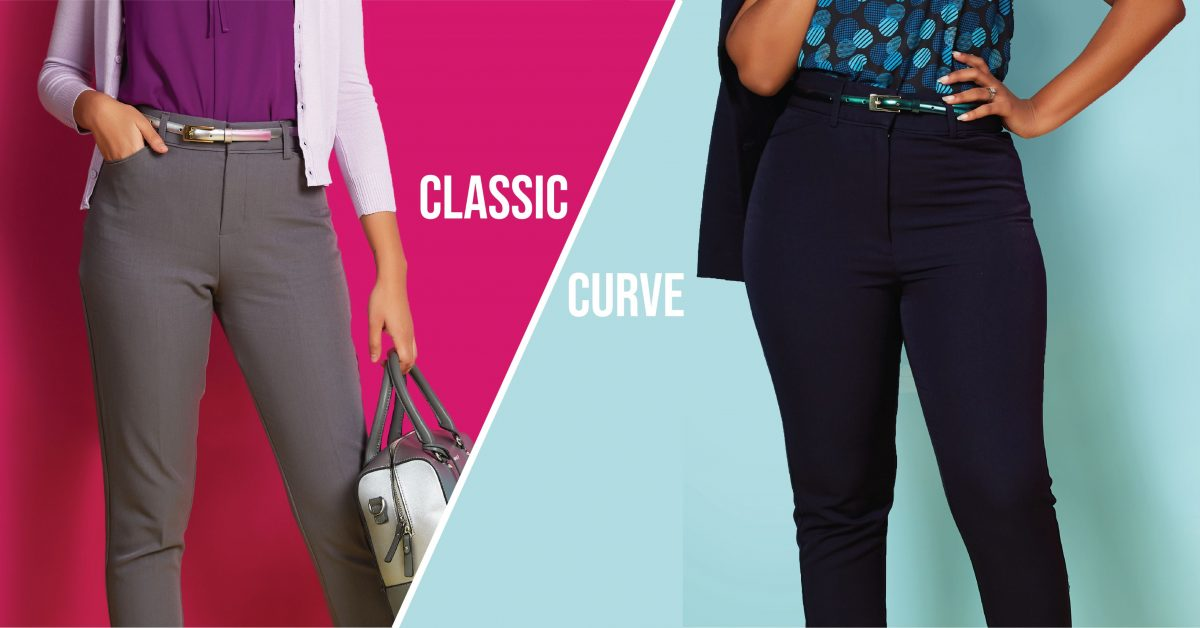 Lassic and Curve Waist Work Pants
