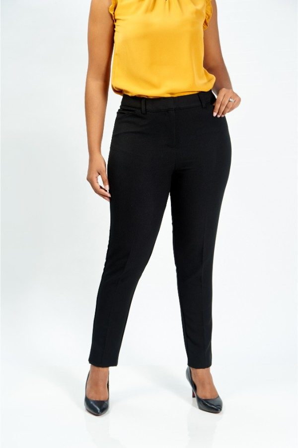 Black Curve Pants