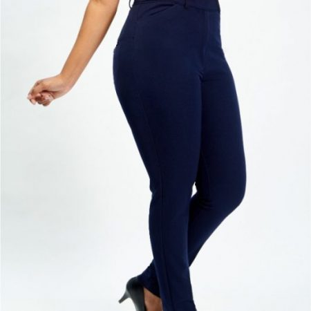Navy Curve Pants