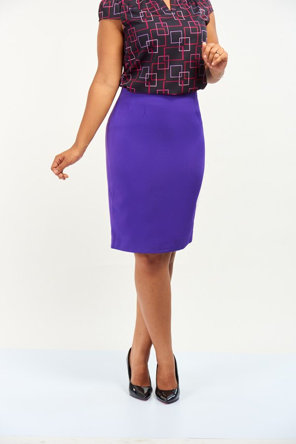 PENCIL SKIRT CREPE