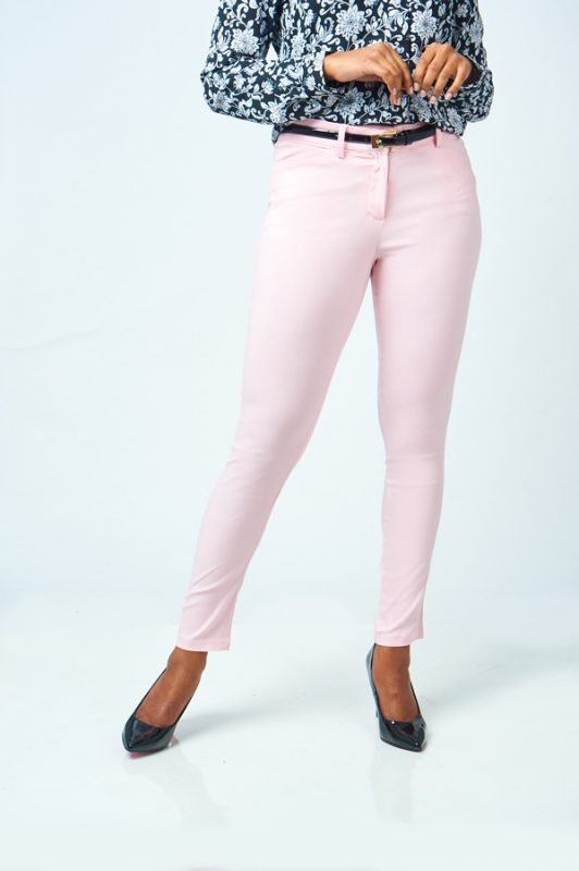 Peach Ankle pants