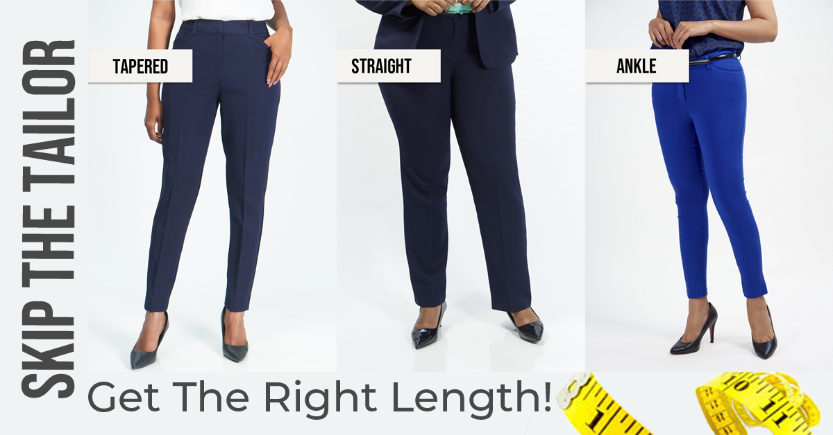 Inseam length pants