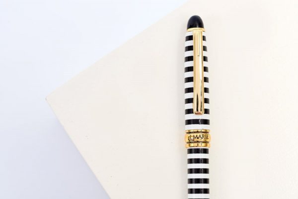 striped pen